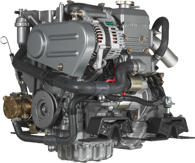 Yanmar 2YM15 3 4 Engine