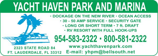 Yacht Haven Park Amp Marina Ft Lauderdale Fl 33312