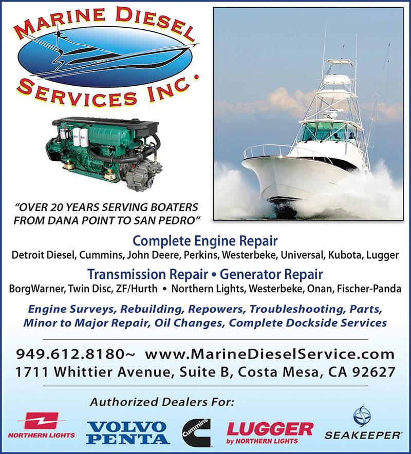 Marine Diesel Services-Costa Mesa-CA-92627|Boatersbook com