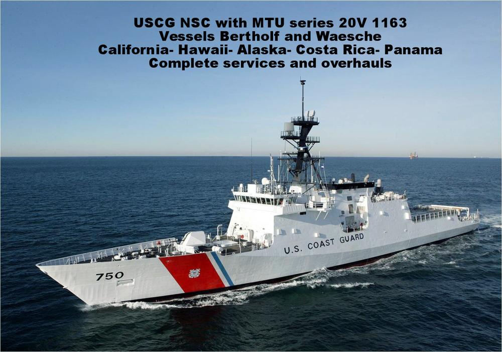 marine propulsion service