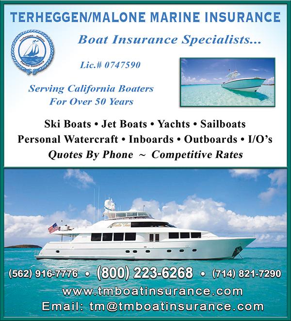 Personal Watercraft Insurance Quotes: Terheggen / Malone Marine Insurance Services-Lakewood-CA